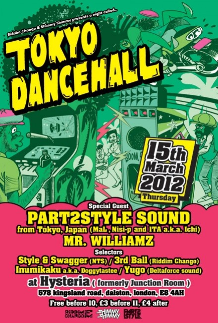 Style & Swagger at Tokyo Dancehall London