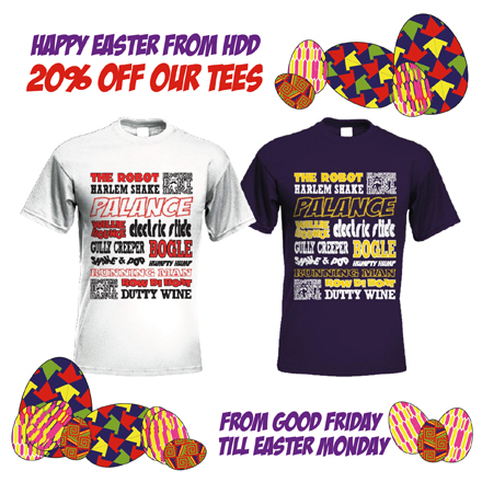 HDD easter T shirt  offer