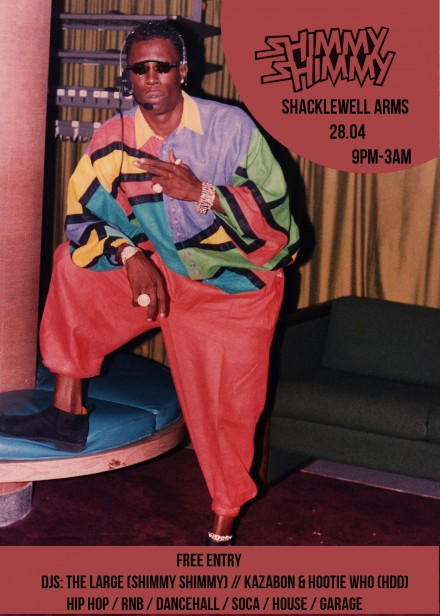 shimmy shimmy - shacklewell