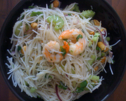 HDD Recipe Thai Prawn Salad