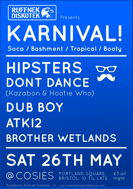 HDD DJs at karnival Bristol