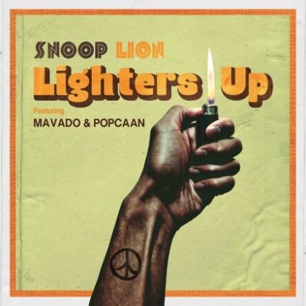 Snoop Lion Mavado Popcaan Lighters Up
